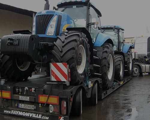 Транспорт на земеделска техника
